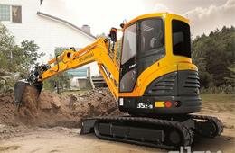 现代重工与凯斯组建小型挖掘机