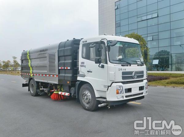 中联重科ZLJ5162TXSDE4大型污水循环洗扫车