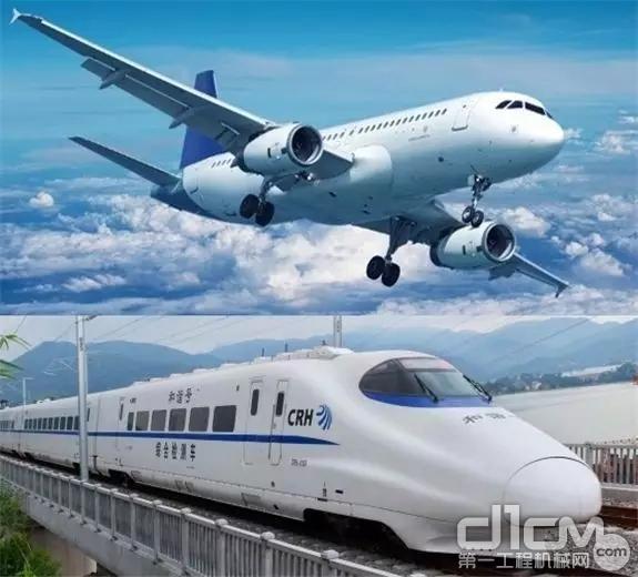 轨道运输与航空运输