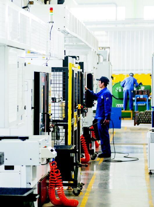 高新技术企业锐博机械生产线