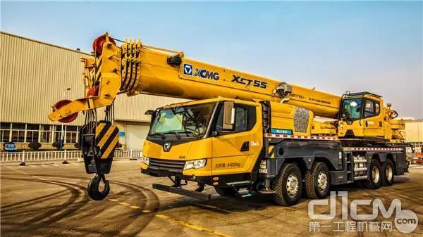 舉重若輕 徐工XCT55L6起重機多工況應用合集