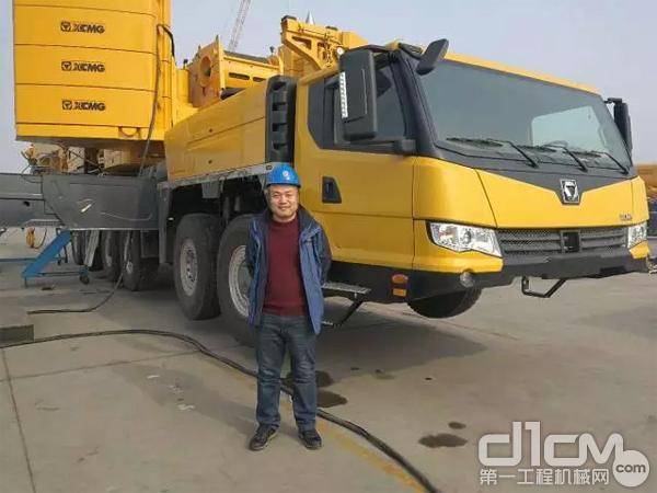 用魄力和細致創造未來 采訪徐工XCA300全地面起重機用戶趙老板