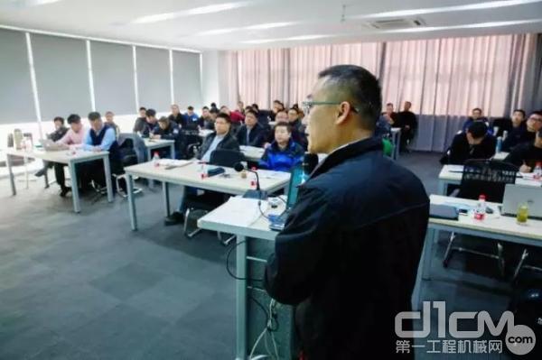 浙江立洋和特雷克斯共同举办了特雷克斯产品常识培训