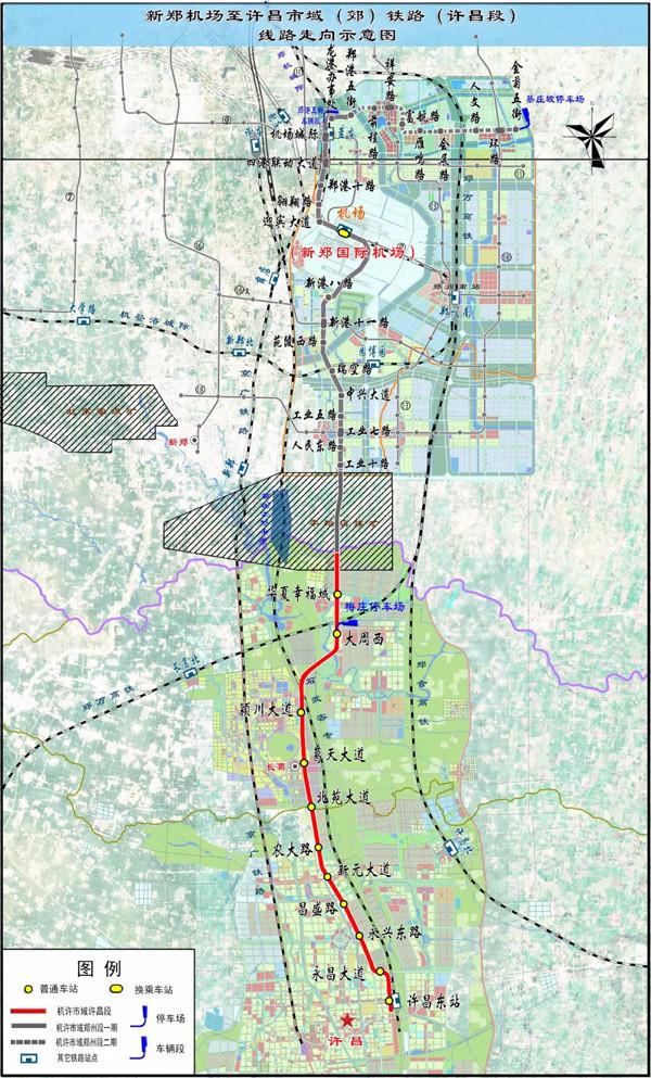 项目线路示意图