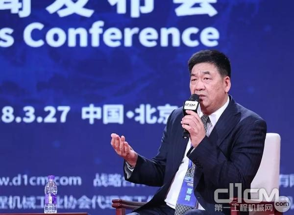小松(中国)投资有限公司总经理助理、信息技术应用本部本部长张洪
