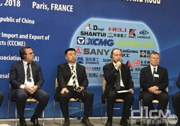 国机重工董事长、党委书记吴培国作为嘉宾发言