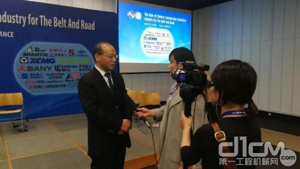 国机重工董事长、党委书记吴培国接受采访