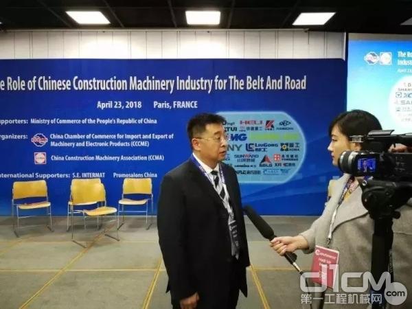 杨东升总经理接受媒体专访
