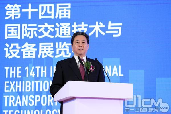 交通运输部部长李小鹏出席开幕仪式并致辞