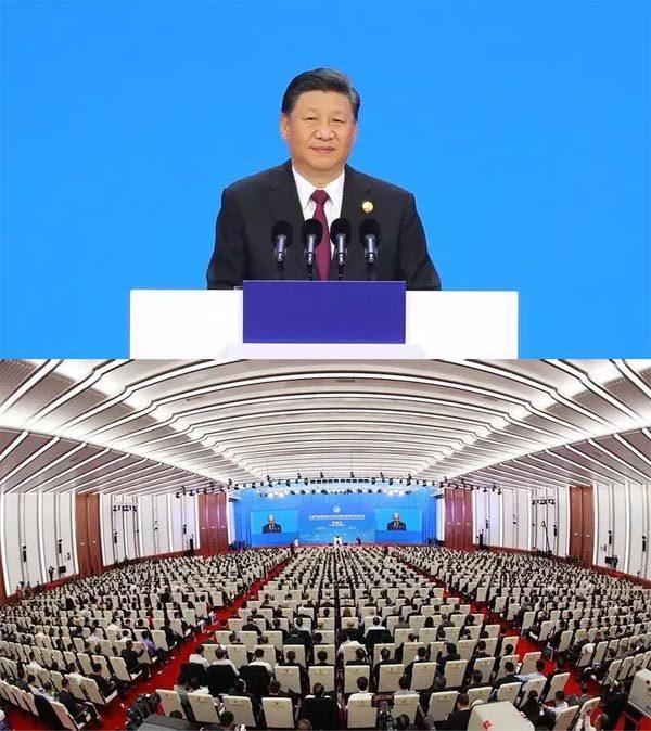 习主席:中国国际进口博览会主旨演讲