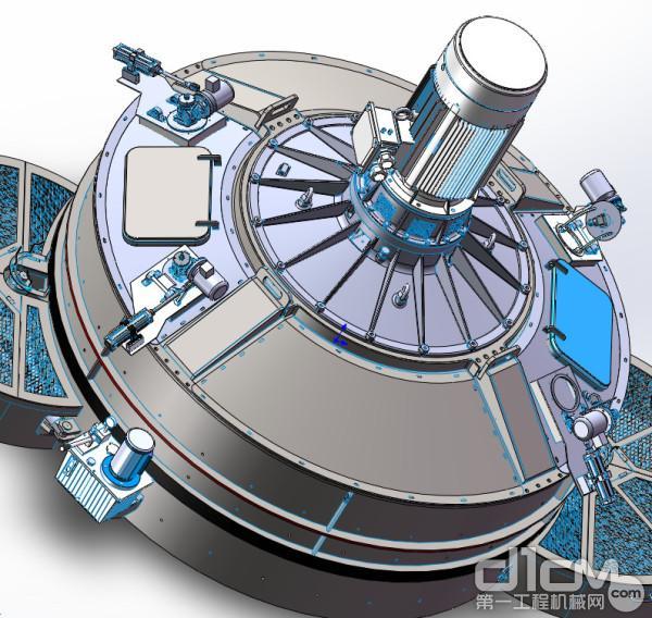 可选配主机高压清洗系统,解决主机残留料问题,更稳定高效