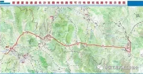长沙至赣州铁路