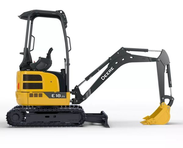 约翰迪尔E18zs迷你型挖掘机