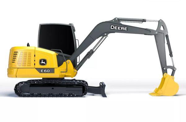 约翰迪尔E60迷你型挖掘机