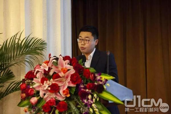 营销公司双轮铣主任工程师 陈浩 :《上海金泰双轮铣应用案例的分享》专题演讲