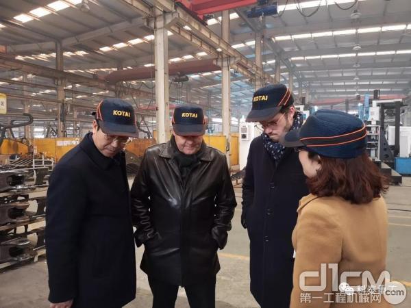维特根(中国)机械有限企业总裁韦策图一行到访科泰重工