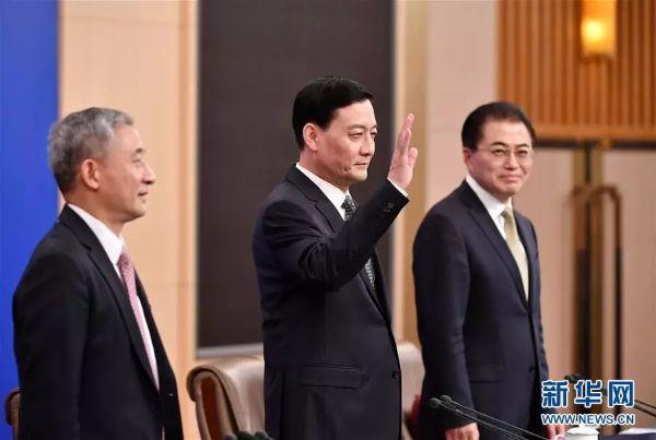 国务院国资委主任肖亚庆先生,副主任翁杰明先生,秘书长、新闻发言人彭华岗先生