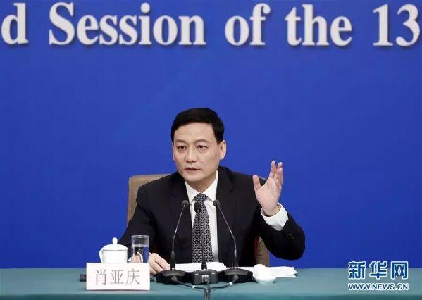 国务院国资委主任肖亚庆先生