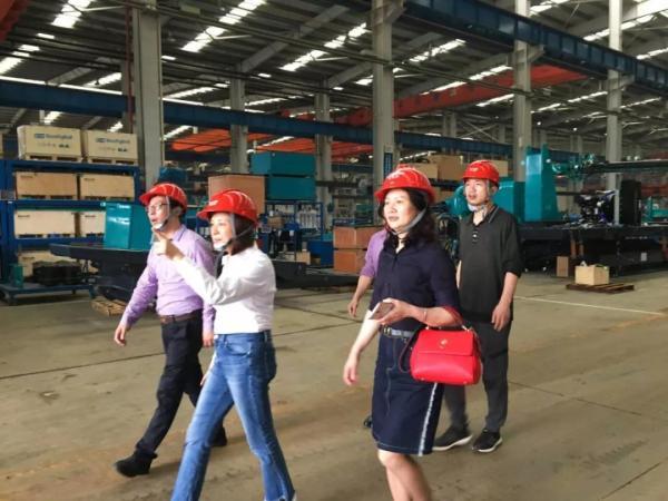 铁道机车学院赴山河智能装备股份有限企业进行调研
