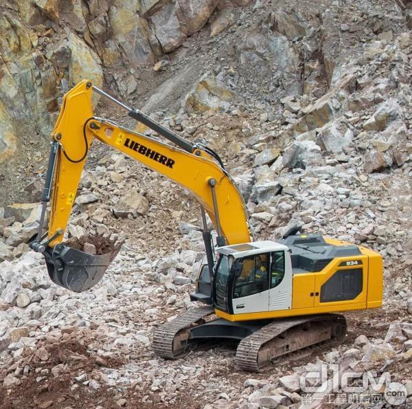 土方行业新一代履带式挖掘机,由利勃海尔法国科尔马企业开发和生产,因其更卓越的性能、更出色的生产率、更高的安全性、更便利的操作引人瞩目。