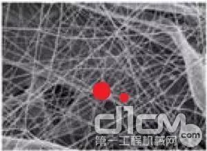 山猫纯正滤芯采用Ultra-Web®纳米纤维滤材