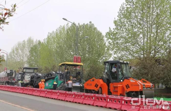 仅需半幅封闭施工,减少交通干扰