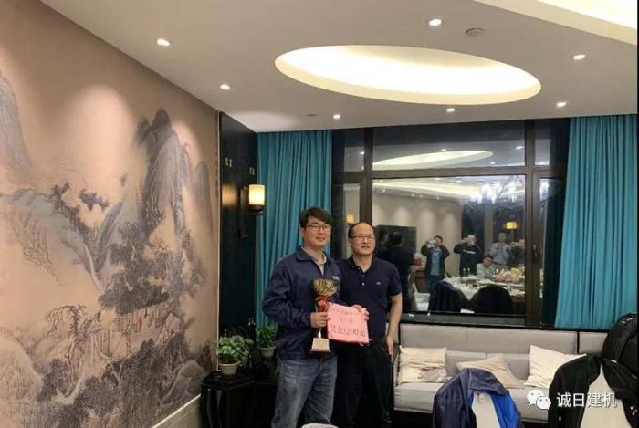 来自江苏南京的服务工程师季鹏勇夺本次竞技会的第一名