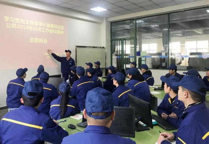 徐州工程机械技师学院组织学生学习