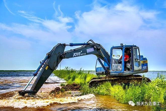 恒天九五JV系列液压挖掘机