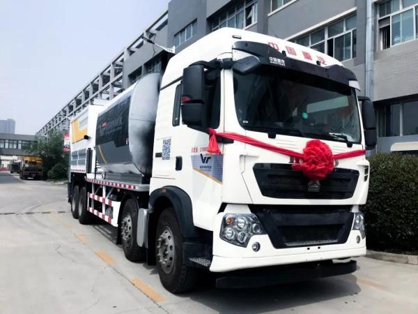 TBS400沥青碎石同步封层车发往宁夏