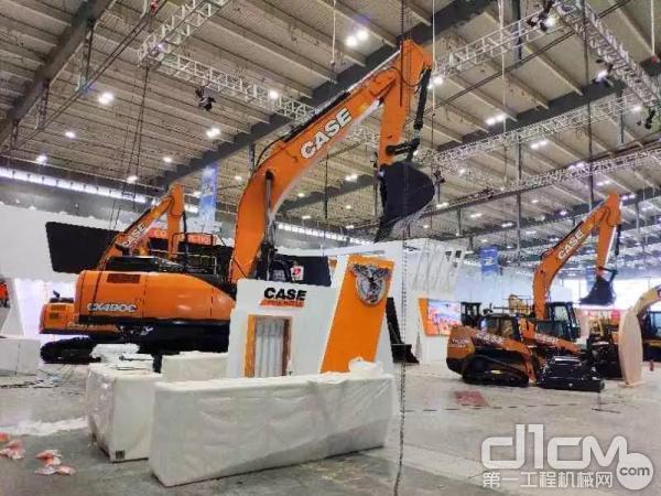 凯斯CX490C挖掘机 霸气现身长沙国际工程机械展
