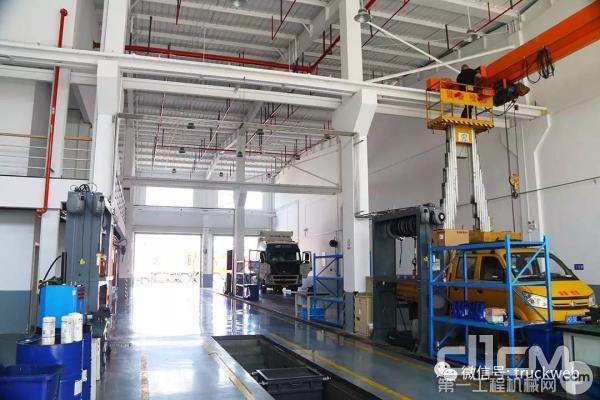 沃尔沃卡车上海丰沃青浦服务站