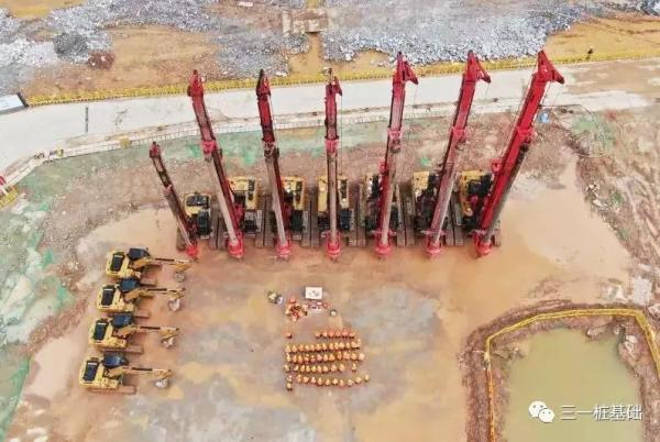 深圳大学项目开工仪式现场