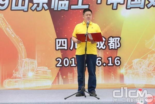 四川百中工程机械有限公司总经理龙勇