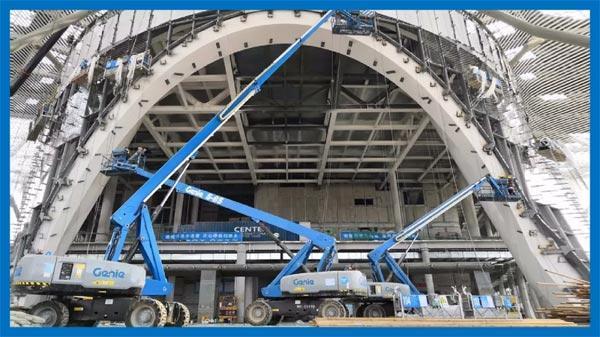 深圳国际会展中心建设现场