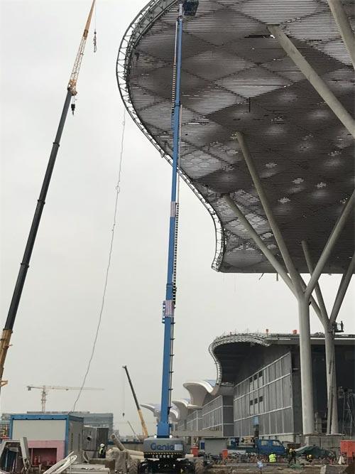深圳会展中心钢结构用钢量为全球房屋建筑领域之最