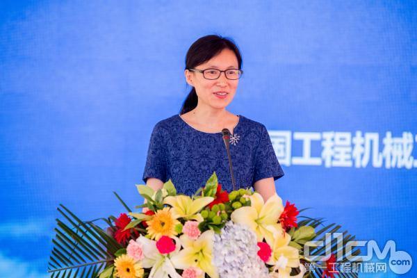 中国工程机械工业协会维修及再制造分会秘书长王倩