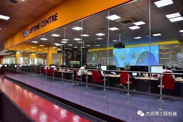 JCB 全球数字化监控中心