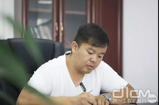 山河智能挖掘机客户邓先义