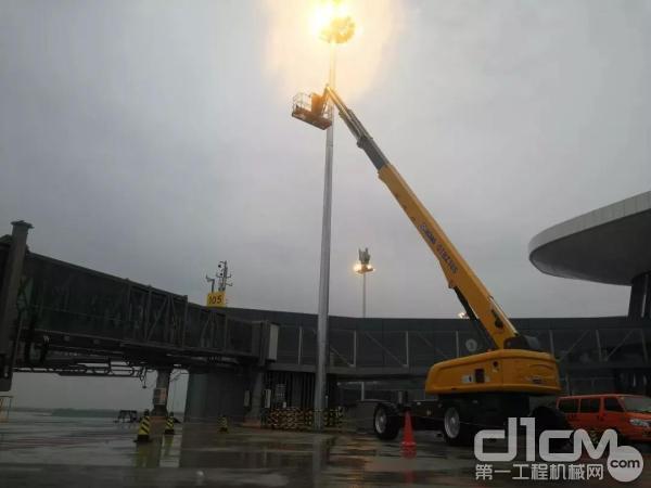 徐工高空作业平台助力北京大兴国际机场建设