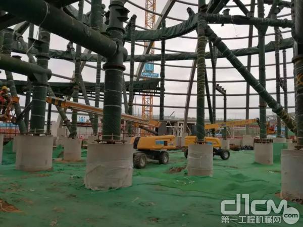徐工高空作业平台助力北京环球度假区建设