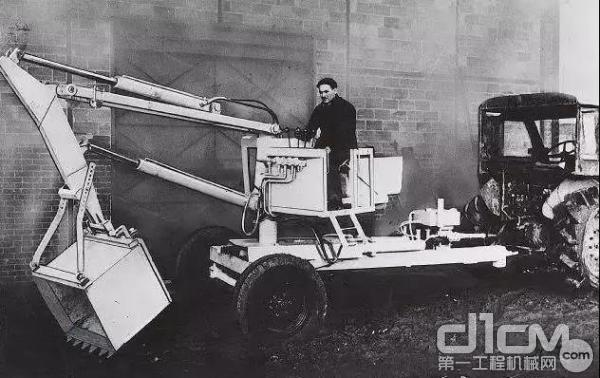 1974年,波克兰公司的挖掘机业务正式被凯斯收购