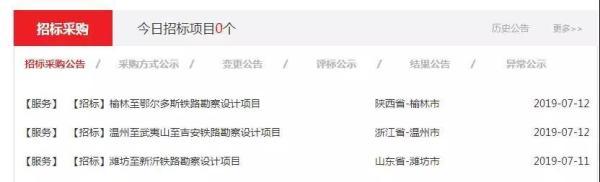 中国国家铁路集团发布三条重要高铁招标公告