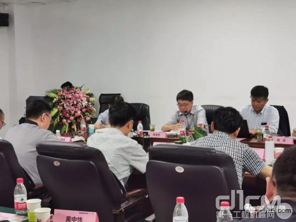 2019年小松(中国)北部区域上半年营业总结会议