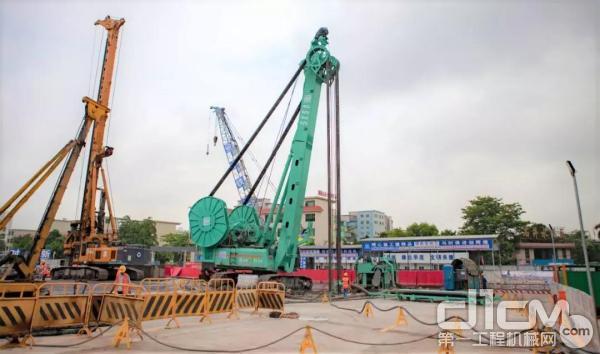 金泰新产品SX50铣槽机首次参与广州城市轨交建设