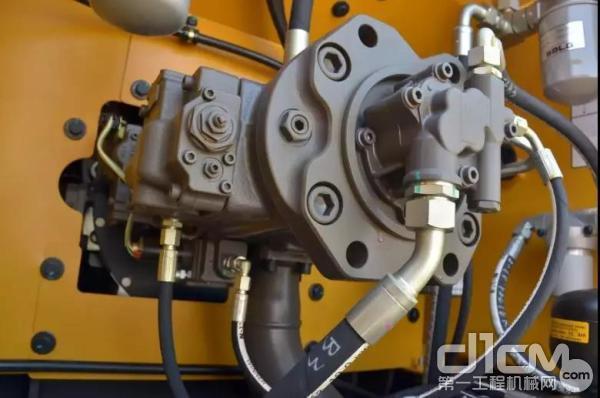 山东临工E6210F挖掘机双泵恒功率液压系统