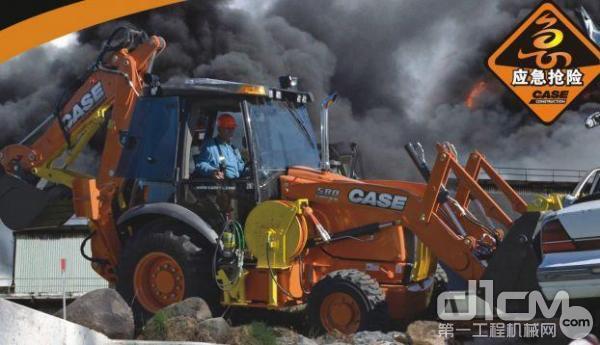 凯斯580N挖掘机装载机