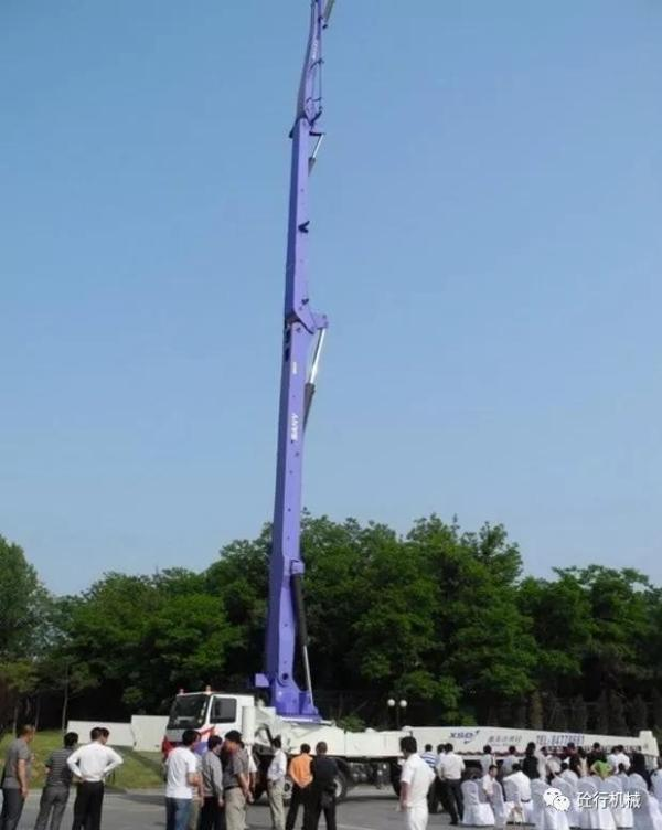 三一SY5600THB-6666米混凝土臂架泵车
