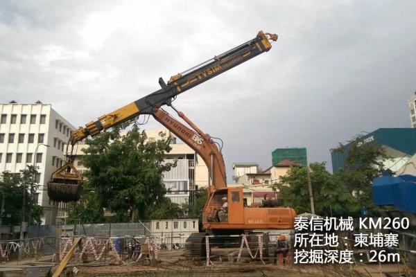 泰信机械助力中国电建水电五局一分局良睦路工程EPC总承包项目建设