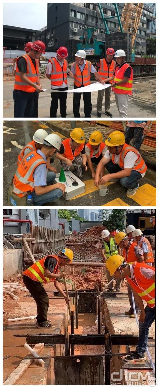 现场施工人员